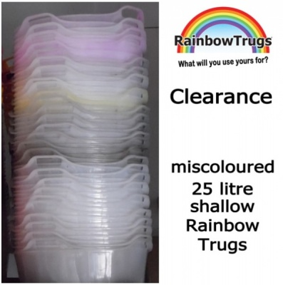 25 Litre Rainbow Trug® - MISCOLOURED*