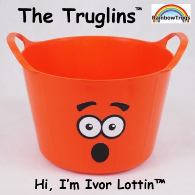 Truglin™ Ivor Lottin (Small) Die-cut Sticker Set