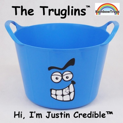 Truglin™ Justin Credible (Small) Die-cut Sticker Set