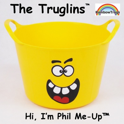 Truglin™ Phil Me-Up (Small) Die-cut Sticker Set