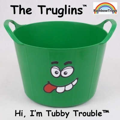 Truglin™ Tubby Trouble (Small) Die-cut Sticker Set