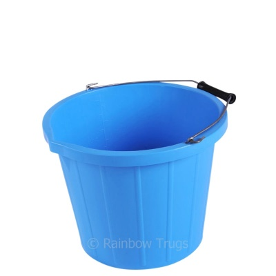 Coloured 3 Gallon Bucket - BLUE