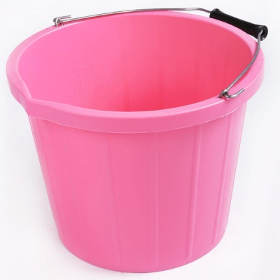 Rainbow 3 Gallon Bucket - CANDY PINK