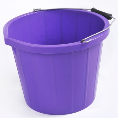 Coloured 3 Gallon Bucket - PURPLE
