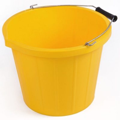 Rainbow 3 Gallon Bucket - YELLOW