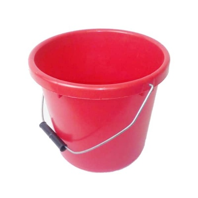 5 Litre Soft Bucket - RED