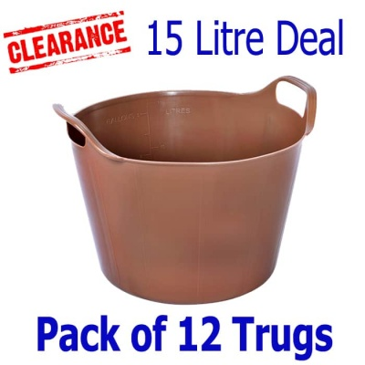 15 Litre Rainbow Trug® - Pack of 12 - CHOCOLATE SCENTED