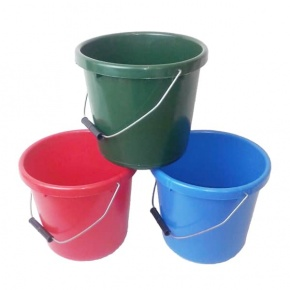 Coloured 5 Litre Soft Bucket