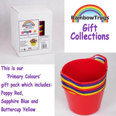 Rainbow Trug Mini-Tub® PRIMARY COLOURS Collection