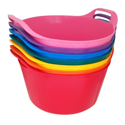 14 Litre Rainbow Trug® - Pack of 7 Rainbow Colours