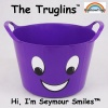 Truglin™ Seymour Smiles (Small) Die-cut Sticker Set