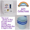 Rainbow Trug Mini-Tub® SHADES OF BLUE Collection
